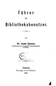 Führer für bibliotheksbenutzer