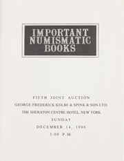 Important Numismatic Books: Fifth Joint Auction