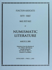 Fifty-First Mail Bid Sale of Numismatic Literature