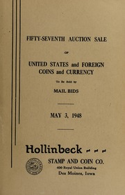 Fifty-Seventh Auction Sale of United States and Foreign Coins and Currency