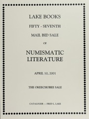 Fifty-Seventh Mail Bid Sale of Numismatic Literature