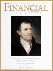 Financial History: The Magazine of the Museum of American Financial History