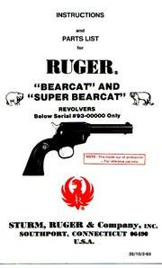 Ruger Bearcat & Super Bearcat Revolver : Free Download