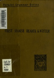 First Spanish reader and writer : Clarke, Henry Butler ... - photo#18