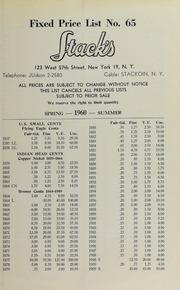 Fixed Price List No. 65