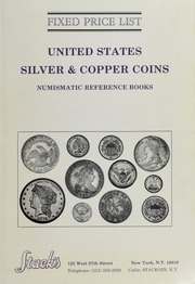 Fixed Price List: United States Silver & Copper Coins