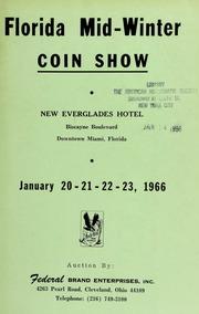 Florida mid-winter coin show. [01/20-23/1966]