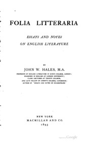 Litter essays