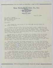 John J. Ford, Jr. Correspondence, 1959