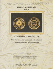 John J. Ford Jr. Collection Reference Library Part I (pg. 149)