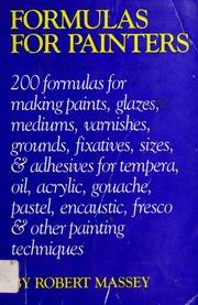Formulas for painters : Massey, Robert, 1921- : Free