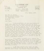 Leonard Forrer: 1947