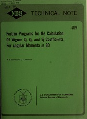 Fortran programs for the calculation of Wigner 3j, 6j, and