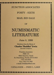 Forty-Sixth  Mail Bid Sale of Numismatic Literature