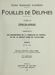 Vol tome 3, fasc. 4, livr. 5: Fouilles de Delphes