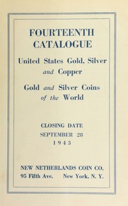 Fourteenth catalogue : United States gold silver and copper : Gold and silver coins of the world. [09/28/1943]