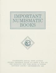 Important Numismatic Books: Fourteenth Joint Auction