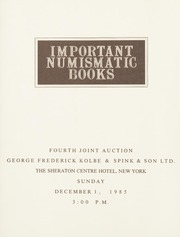 Important Numismatic Books: Fourth Joint Auction