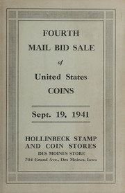 Fourth Mail Bid Sale of United States Coins (September 1941)