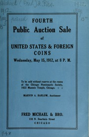 Fourth public auction sale of United States & foreign coins. [05/15/1912]