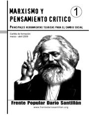 Marxismo y pensamiento crítico - Curso de formación del Frente Popular Darío Santillán (FPDS) - Argentina - año 2009 Fpdsmarxismoypensamientocrtico1