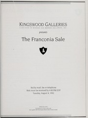 The Franconia Sale