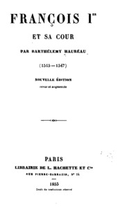 François Ier et sa cour