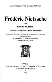 dissent essay maeterlinck nietzsche prophets strindberg tolstoy