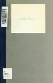 Frédéric à Spandau; ou, Le libelle; mélodrame en trois actes. Musique de M. Alexandre Piccini