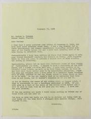 Harley L. Freeman Correspondence, File 2, 1950-1953