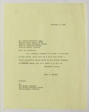 Harley L. Freeman Correspondence, File 5, 1964-1973