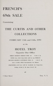 French's 69th Auction Catalogue of the Curtis and Other Collections