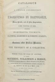 Engravings by Bartolozzi