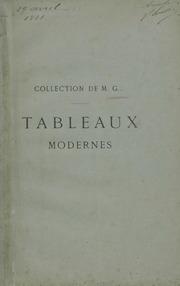 Tableaux modernes quelques tableaux anciens