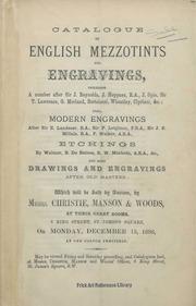 English mezzotints and engravings