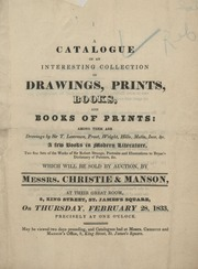 Drawings, prints, books, and books of prints