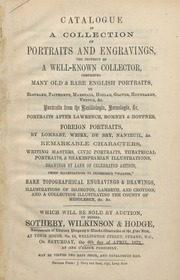 Portraits and Engravings