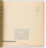 Katalog der II. Kunst-Ausstellung der Vereinigung Bild. Künstler Österreichs electronic resource