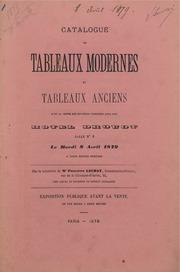 Tableaux modernes et tableaux anciens