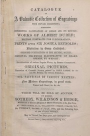 Valuable Collection of Engravings