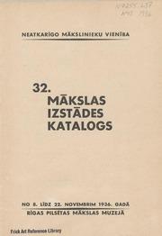 32. makslas izstades katalogs