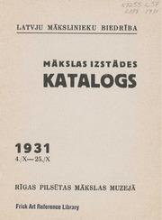 Makslas izstades katalogs
