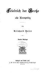 Friedrich der Gross als Kronprinz