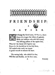 friendship satire Free gulliver travels papers, essays,  different forms of satire in jonathan swift's gulliver's travels  within the boundaries of a true friendship,.