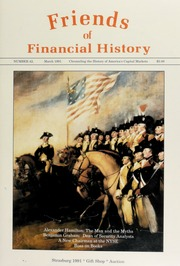 Friends of Financial History