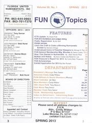 FUN Topics: Spring 2013