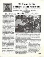 Gallery Mint Museum: November 1995