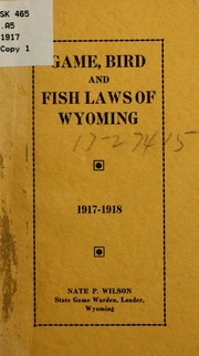 Laws of the state of south carolina pertaining to for Wyoming game and fish regulations