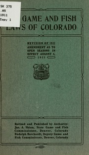 Fish and game in the province of quebec laws for Colorado fishing limits