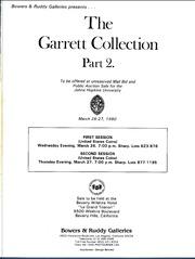 Garrett Collection Sales for the John Hopkins University, Sale 2